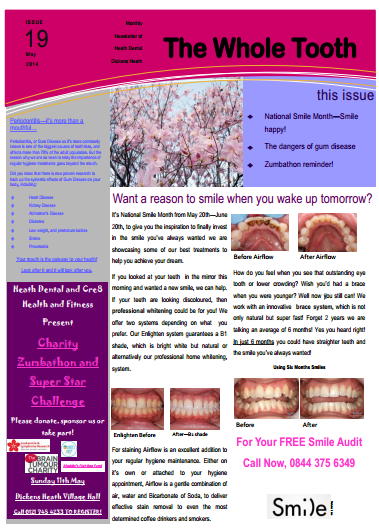 Heath dental Dentist Newsletter