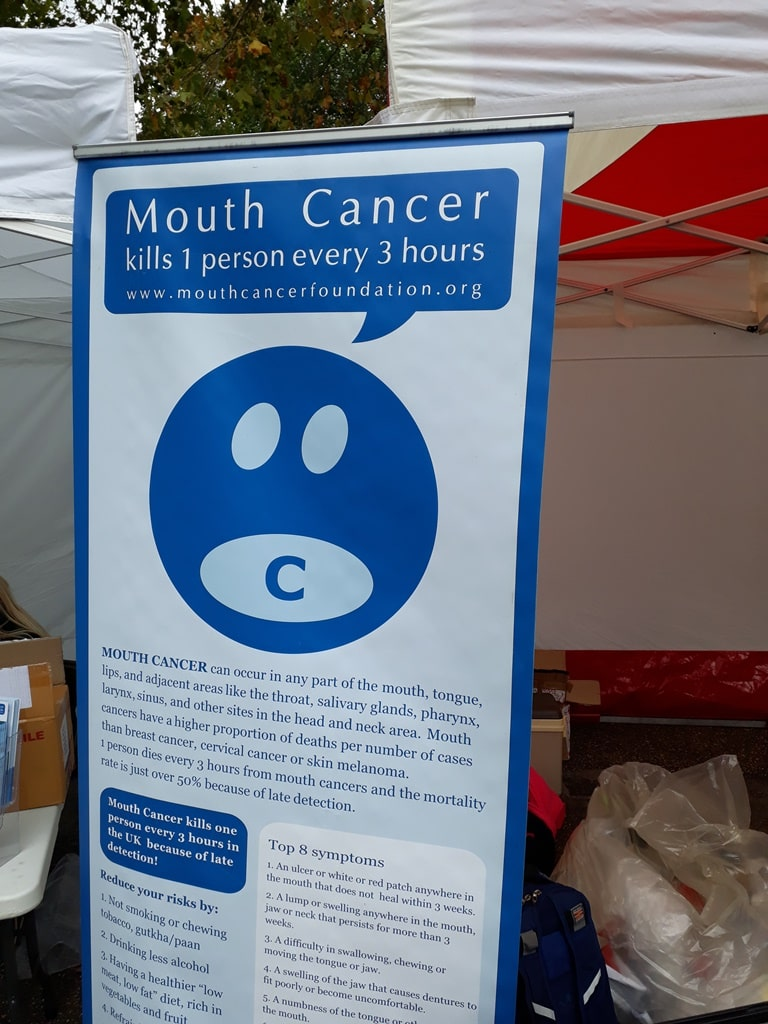 13th annual Mouth Cancer Awareness walk