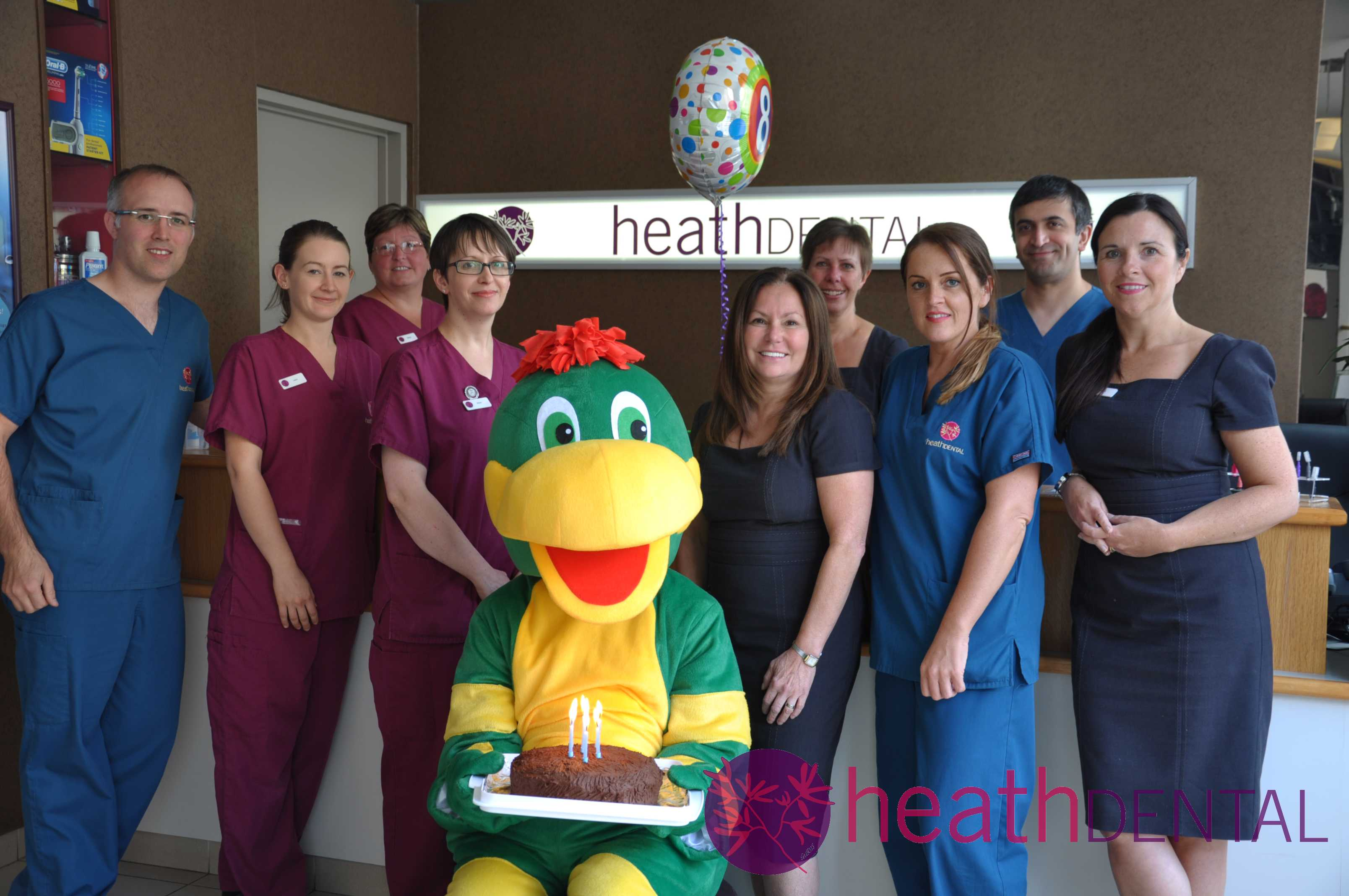 Happy 8th Birthday Heath Dental